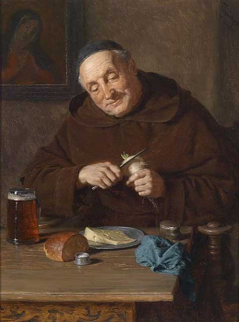 monk-with-his-meal